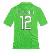 14-15 Juventus Giovinco #12 Away Green Jersey Shirt