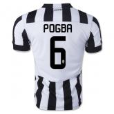 14-15 Juventus POGBA #6 Home Jersey Shirt