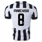 14-15 Juventus MARCHISIO #8 Home Jersey Shirt