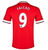 14-15 Manchester United Falcao #9 Home Jersey Shirt
