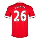 14-15 Manchester United Kagawa #26 Home Jersey Shirt
