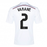 14-15 Real Madrid Varane #2 Home Jersey Shirt