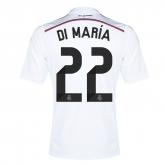 14-15 Real Madrid Di María #22 Home Jersey Shirt