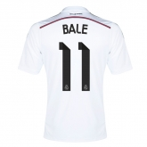 14-15 Real Madrid Bale #11 Home Jersey Shirt