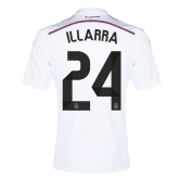 14-15 Real Madrid Illarra #24 Home Jersey Shirt