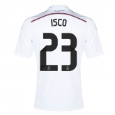 14-15 Real Madrid Isco #23 Home Jersey Shirt