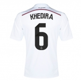 14-15 Real Madrid Khedira #6 Home Jersey Shirt