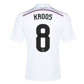 14-15 Real Madrid Kroos #8 Home Jersey Shirt