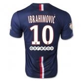 14-15 PSG Ibrahimović #10 Home Soccer Jersey Shirt