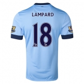 14-15 Manchester City LAMPARD #18 Home Soccer Jersey Shirt