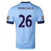 14-15 Manchester City DEMICHELIS #26 Home Soccer Jersey Shirt