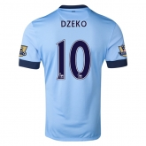 14-15 Manchester City Džeko #10 Home Soccer Jersey Shirt