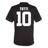 14-15 Roma Totti #10 Away Brown Player Version Jersey Shirt