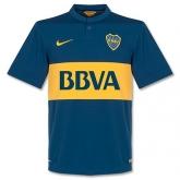 14-15 Boca Juniors Home Soccer Jersey Shirt