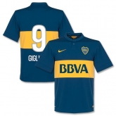 14-15 Boca Juniors Gigliotti #9 Home Jersey Shirt