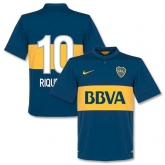 14-15 Boca Juniors Riquleme #10 Home Jersey Shirt
