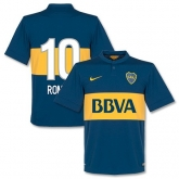 14-15 Boca Juniors Roman #10 Home Jersey Shirt