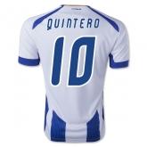 14-15 Porto Quintero #10 Home Jersey Shirt