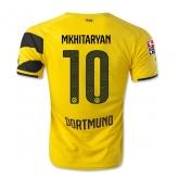 14-15 Borussia Dortmund MKHITARYAN #10 Home Jersey Shirt