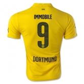 14-15 Borussia Dortmund IMMOBILE #9 Champion League Yellow Jersey Shirt