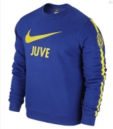 14-15 Juventus Blue Long Sleeve Sweater Shirt