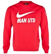 14-15 Manchester United Red Tracking Sweater Top Shirt