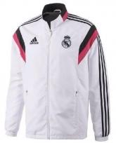 2014 Real Madrid White&Pink Training Jacket