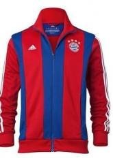 2014 Bayern Munich Red&Blue Training Jacket