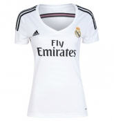 14-15 Real Madrid Home Womens Jersey Shirt