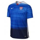 2015 USA Away Blue Soccer Jersey Shirt(Player Version)
