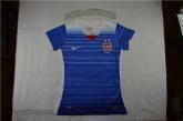 2015 USA Away Blue Women's Soccer Jersey Shirt