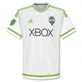 15-16 Seattle Sounders Away White Soccer Jersey Shirt
