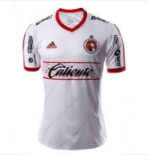 15-16 Club Tijuana Away White Soccer Jersey Shirt