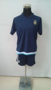 2015 Argentina Away Navy Jersey Kit(Without Logo)