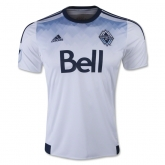 15-16 Vancouver Whitecaps Home White Soccer Jersey Shirt