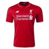 15-16 Liverpool Home Soccer Jersey Shirt