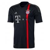 14-15 Bayern Munich Away Black Soccer Jersey Shirt
