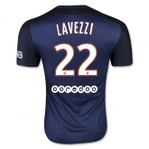 15-16 PSG Home Lavezzi #22 Soccer Jersey Shirt