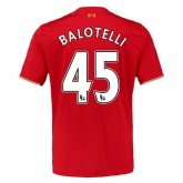 15-16 Liverpool Home BALOTELLI #45 Soccer Jersey Shirt