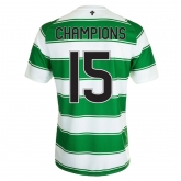 15-16 Celtic Home CHAMPIONS #15 Soccer Jersey Shirt