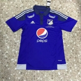 15-16 CD Los Millonarios Home Blue Soccer Jersey Shirt