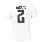 15-16 Real Madrid Home Varane #2 Soccer Jersey Shirt