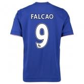 15-16 Chelsea Home Falcao #9 Soccer Jersey Shirt