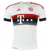 15-16 Bayern Munich Away White Jersey Shirt