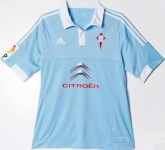 15-16 Celta Vigo Home Sky Blue Soccer Jersey Shirt