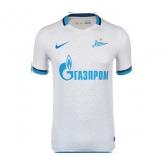 15-16 Zenit Saint Away White Soccer Jersey Shirt