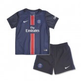 15-16 PSG Home Children's Jersey Kit
