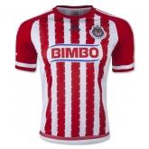15-16 Deportivo Guadalajara Home Soccer Jersey Shirt