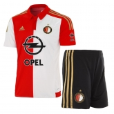 15-16 Feyenoord Home Soccer Jersey Kit(Shirt+Short)