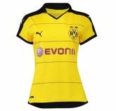 15-16 Borussia Dortmund Home Women's Soccer Jersey Shirt